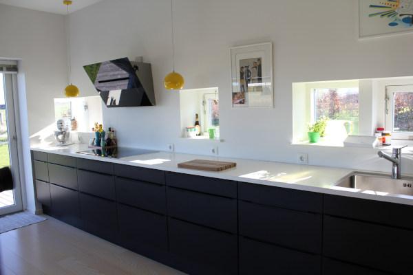 Funktionelt køkken - arkitekt Jan Bille