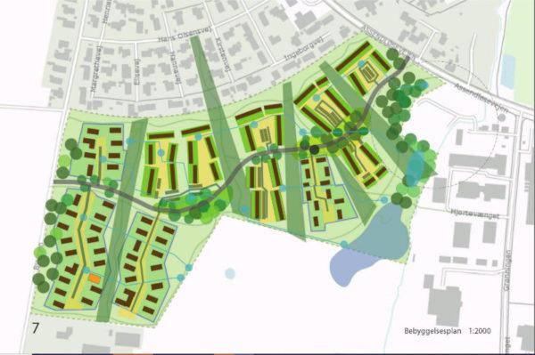 Dåstrup bebyggelsesplan