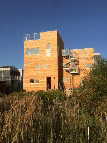 Træhus i 3 etager på Musicon